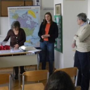 16 aprile - rovigno - presentazione del progetto ed inizio dell'incontro