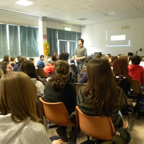 Visita ala scuola Media Fermi di Udine - 10.02.11