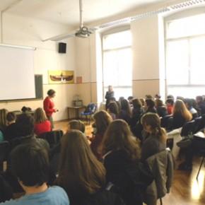 Visita alla scuola media Divisione Julia Trieste - 23.03.11