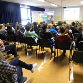Incontro con gli studenti del Preseren di Trieste - 28.04.11