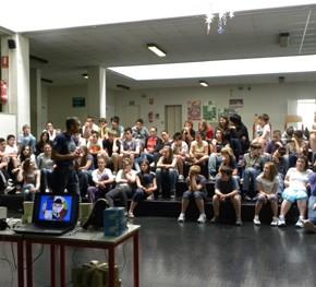 Eccoci qui a parlare d'Europa presso la scuola di Palazzolo dello Stella aMuzzana - 12.05.11