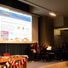 Il coro della scuola media Cordematz