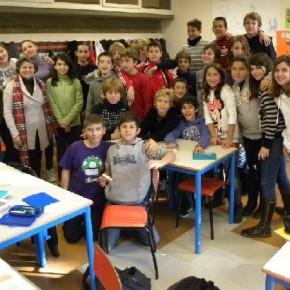 lezione europea alla scuola media campi elisi - 23.11.11
