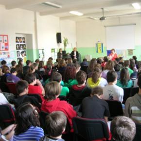 lezione europea alla scuola media Svevo - 04.04.11