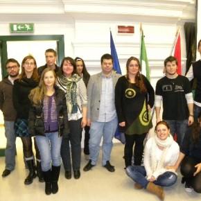 Ed ecco qui i volontari europei