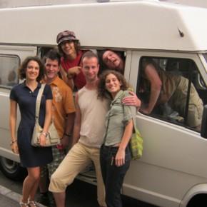 La partenza del caravan verso la Slovenia, il viaggio continua
