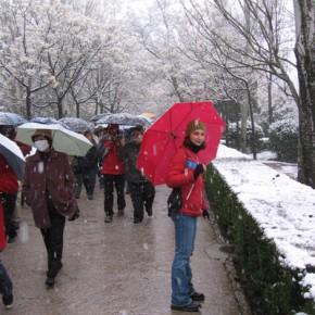 Un po' di turismo: d'inverno all'Alhambra.