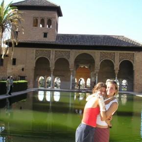 Un po' di turismo: il magnifico Al Hamra a Granada.