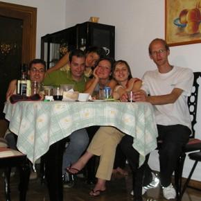 """""""International evening"""" nel nostro appartamento con altri volontari dalla Polonia, Germania, Rep. Ceca..."""