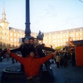 Plaza Mayor a Madrid. Come non pensare di tornarci?