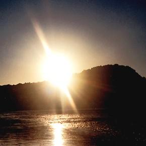 ...tramonto di una bellissima esperienza.