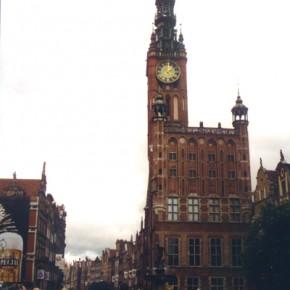 La piazza principale di Breslavia.