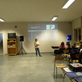 11.5.15 Seconda lezione europea presso la scuola media Tommasini di Trieste