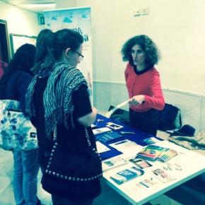 5.5.15 Banchetto e presentazione delle opportunità di mobilità giovanile al SSLMIT di Trieste