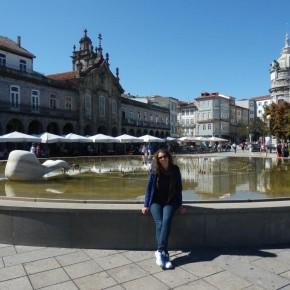 Nensi dopo un mese dall'arrivo a Coimbra