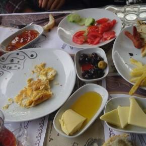 La tipica colazione turca