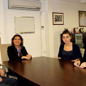 ricevimento con la mia organizzazione nell'ufficio di uno dei Deputati della municipalità