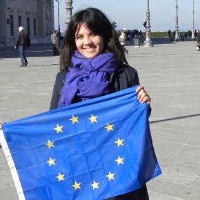 Gabriella volontaria europea a Belfast