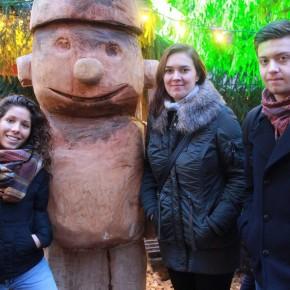 A Fulda con altri due volontari