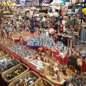 Bancarelle ai mercatini di Natale