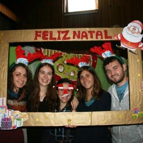 Noi volontari per la festa di Natale