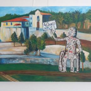 Il dipinto realizzato da Nensi