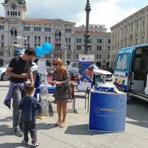 7.5.16 - P. Unità - anche i bambini si avvicinano all'Europa