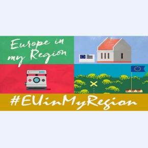 """Partecipa anche tu alla campagna """"'l'Europa nella mia regione"""""""