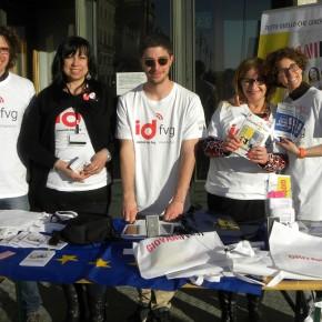 In P. Unità per promuovere i partali: portale europeo dei giovani, giovani fvg e go women