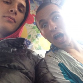 Io e Iridi il mio amico afghano