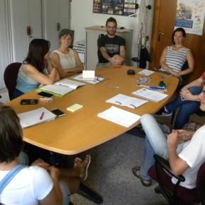 Nel pomeriggio i volontari hanno potuto ascoltare l'esperienza delle due volontarie del Djiaski Dom di Trieste