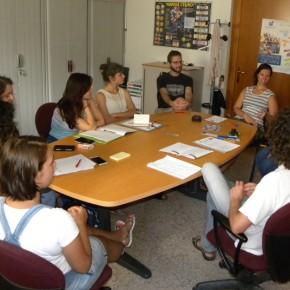 All'incontro ha partecipato anche Nensi, volontaria europea in Portogallo