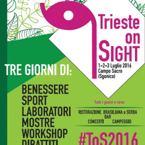 "Volantino del ""Trieste on sight"""