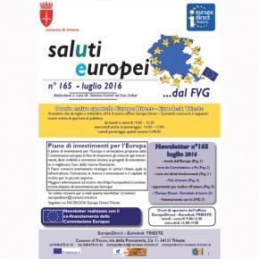 "Newsletter ""SalUtiEuropei"" n° 165 - luglio 2016"