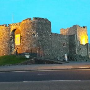 Il castello di Carrickfergus