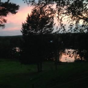 E di nuovo il tramonto, non manca mai!