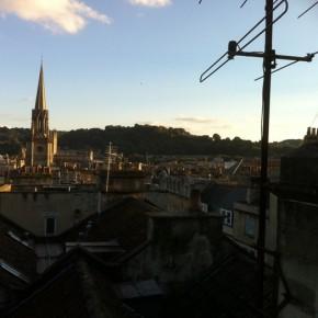 la vista dei tetti dalle nostre finestre