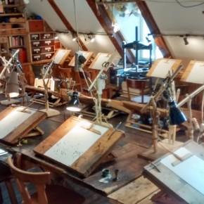 Lo scriptorium qui all'UKK