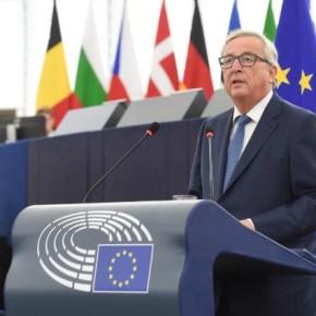 Il discorso pronunciato dal Presidente Juncker sullo stato dell'Unione 2016