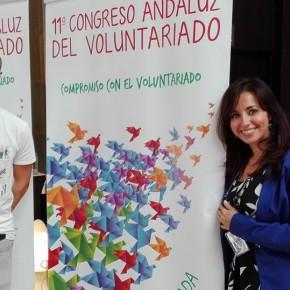 io e leo al congresso di volontariato a Granada