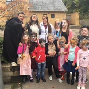 Halloween nell'Holiday Club