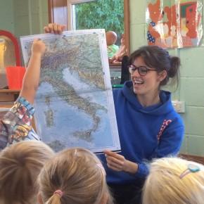 Conoscere l'Italia nella nursery di Trowbridge