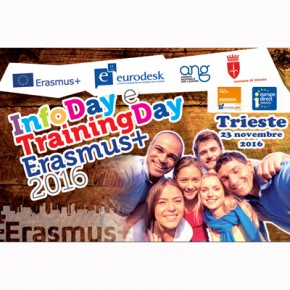 Info Day Erasmus+ Gioventù - Trieste 23 novembre - FOTO e SLIDE