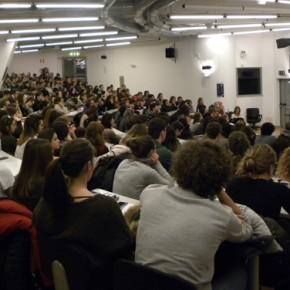 Durante la presentazione delle opportunità offerte dall'Università