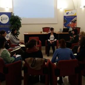 I gruppi di lavoro pomeridiani, come accreditarsi e come scrivere un progetto SVE di qualità