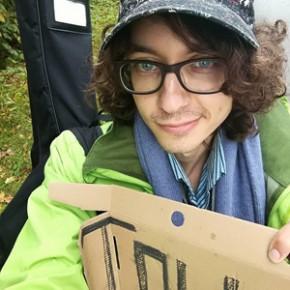 Un selfi da volontario europeo