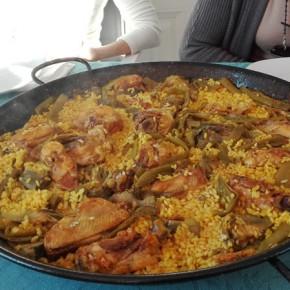 La vera paella valenciana