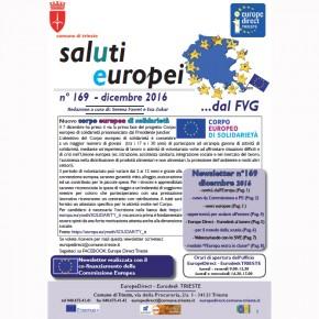 Newsletter SalUtiEuropei n° 169 - dicembre 2016