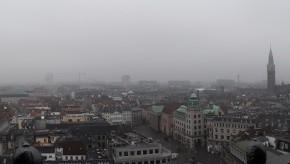 Vista di Copenaghen dall'alto