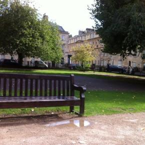 Un angolo verde nel centro di Bath